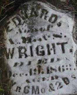 WRIGHT, EDWARD - Black Hawk County, Iowa   EDWARD WRIGHT