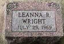 WRIGHT, LEANNA R. - Black Hawk County, Iowa | LEANNA R. WRIGHT