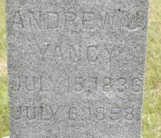 YANCY, ANDREW J. - Black Hawk County, Iowa | ANDREW J. YANCY