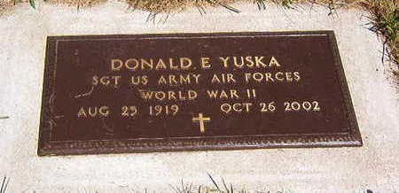 YUSKA, DONALD E - Black Hawk County, Iowa | DONALD E YUSKA