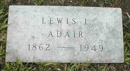ADAIR, LEWIS L. - Boone County, Iowa | LEWIS L. ADAIR