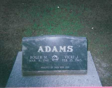 ADAMS, ROGER M. - Boone County, Iowa | ROGER M. ADAMS