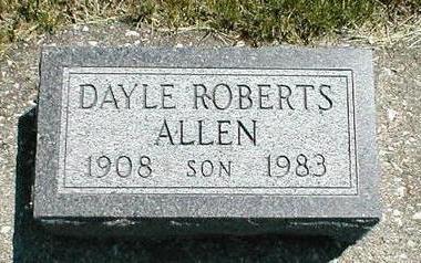 ALLEN, DAYLE ROBERTS - Boone County, Iowa | DAYLE ROBERTS ALLEN