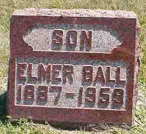 BALL, ELMER - Boone County, Iowa | ELMER BALL