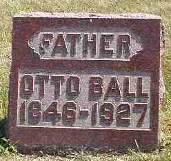 BALL, OTTO - Boone County, Iowa | OTTO BALL
