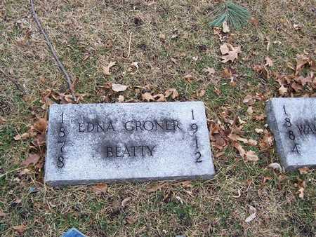 GRONER BEATTY, EDNA - Boone County, Iowa | EDNA GRONER BEATTY