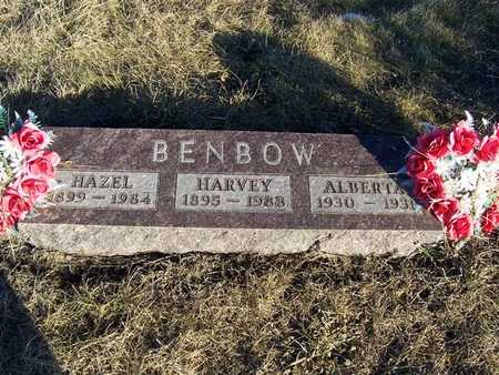 BENBOW, ALBERTA - Boone County, Iowa | ALBERTA BENBOW