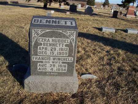 BENNETT, EZRA HUBBEL - Boone County, Iowa | EZRA HUBBEL BENNETT