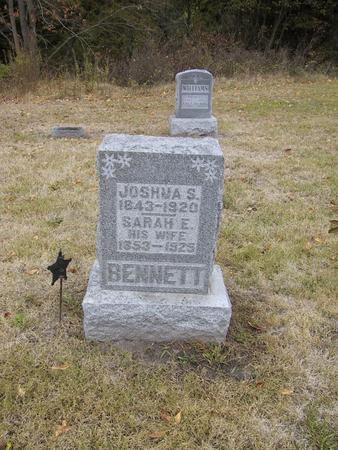BENNETT, JOSHUA S. - Boone County, Iowa | JOSHUA S. BENNETT