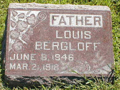 BERGLOFF, LOUIS - Boone County, Iowa | LOUIS BERGLOFF