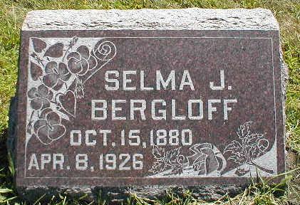 BERGLOFF, SELMA J. - Boone County, Iowa | SELMA J. BERGLOFF