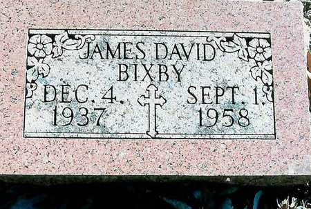 BIXBY, JAMES DAVID - Boone County, Iowa | JAMES DAVID BIXBY