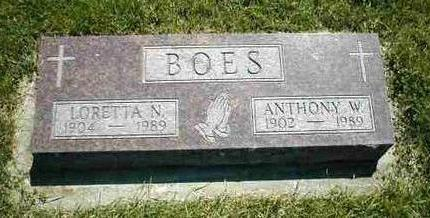 BOES, ANTHONY W. - Boone County, Iowa | ANTHONY W. BOES
