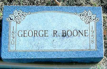 BOONE, GEORGE R. - Boone County, Iowa   GEORGE R. BOONE
