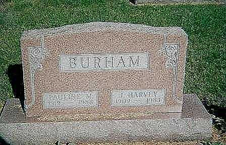 BURHAM, J. HARVEY - Boone County, Iowa | J. HARVEY BURHAM