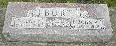 BURT, OLGA - Boone County, Iowa | OLGA BURT