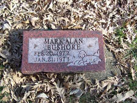 BUSHORE, MARK ALAN - Boone County, Iowa | MARK ALAN BUSHORE