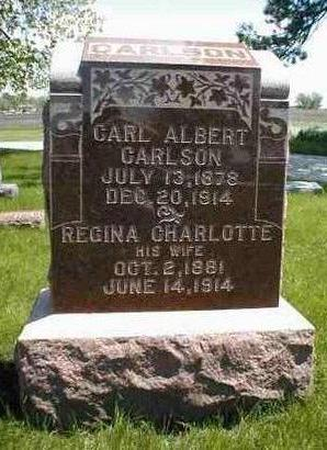 CARLSON, CARL ALBERT - Boone County, Iowa | CARL ALBERT CARLSON