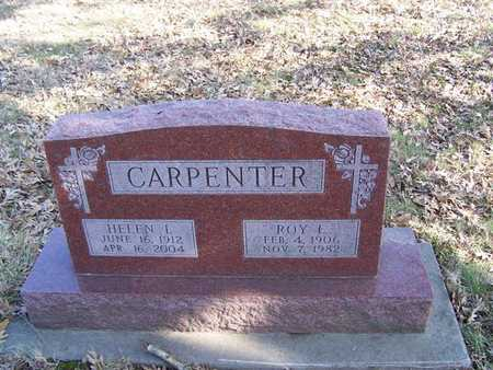 CARPENTER, ROY I - Boone County, Iowa | ROY I CARPENTER