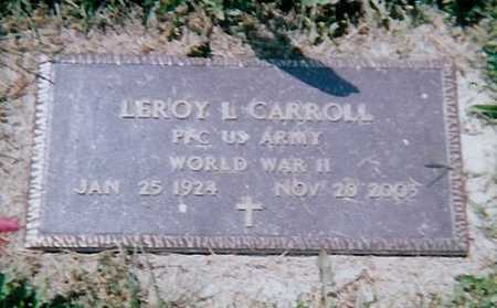 CARROLL, LEROY B. - Boone County, Iowa | LEROY B. CARROLL