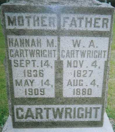 CARTWRIGHT, W.A. - Boone County, Iowa | W.A. CARTWRIGHT