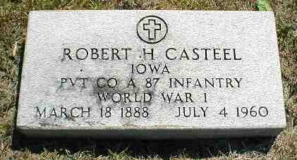 CASTEEL, ROBERT H. - Boone County, Iowa | ROBERT H. CASTEEL