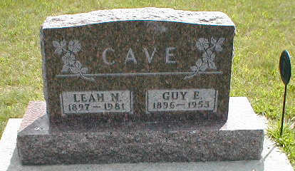 CAVE, GUY E. - Boone County, Iowa | GUY E. CAVE