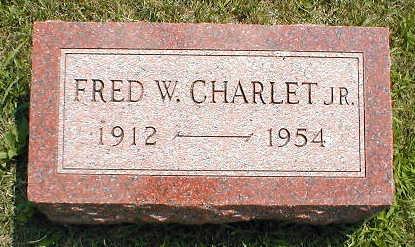 CHARLET, FRED W. (JR.) - Boone County, Iowa | FRED W. (JR.) CHARLET