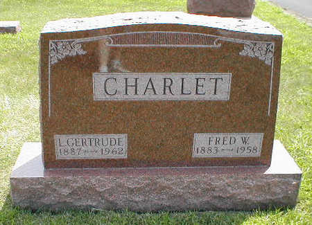 CHARLET, L. GERTRUDE - Boone County, Iowa | L. GERTRUDE CHARLET