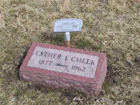 CHEEK, ESTHER I. - Boone County, Iowa | ESTHER I. CHEEK