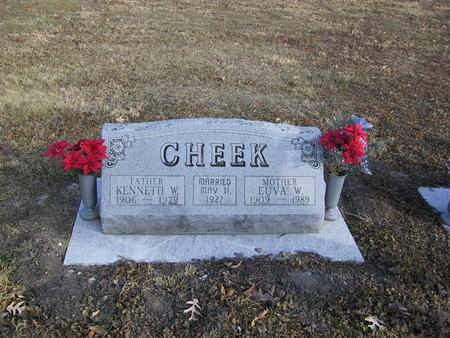 CHEEK, EUVA W. - Boone County, Iowa | EUVA W. CHEEK