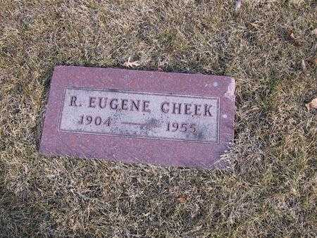 CHEEK, R. EUGENE - Boone County, Iowa | R. EUGENE CHEEK