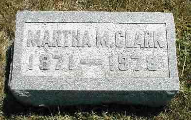 CLARK, MARTHA M. - Boone County, Iowa | MARTHA M. CLARK