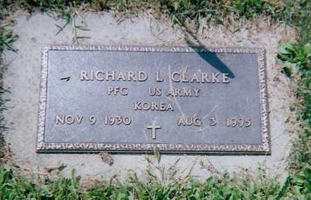 CLARKE, RICHARD L. - Boone County, Iowa | RICHARD L. CLARKE