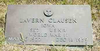 CLAUSEN, LAVERN - Boone County, Iowa | LAVERN CLAUSEN