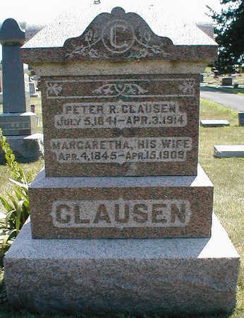 CLAUSEN, MARGARETHA - Boone County, Iowa | MARGARETHA CLAUSEN
