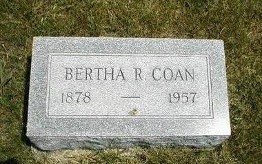 COAN, BERTHA R. - Boone County, Iowa | BERTHA R. COAN