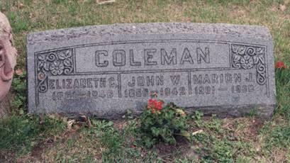 COLEMAN, ELIZABETH C - Boone County, Iowa | ELIZABETH C COLEMAN