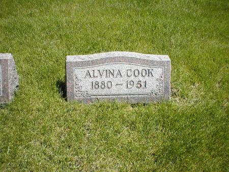 COOK, ALVINA - Boone County, Iowa | ALVINA COOK