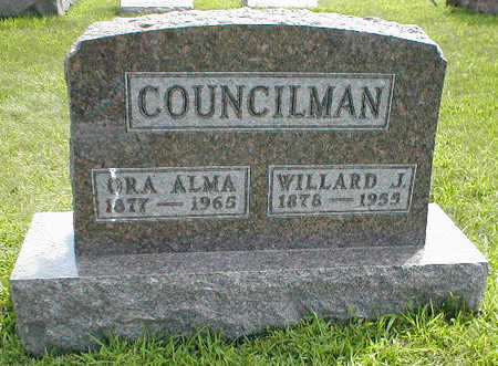 COUNCILMAN, WILLARD G. - Boone County, Iowa | WILLARD G. COUNCILMAN