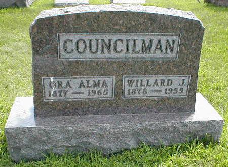 COUNCILMAN, ORA ALMA - Boone County, Iowa | ORA ALMA COUNCILMAN