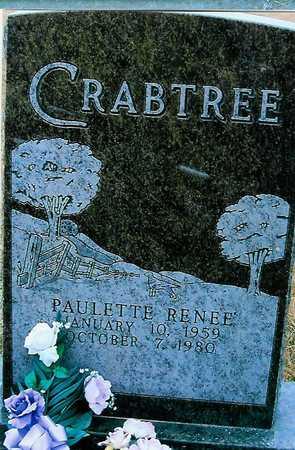 CRABTREE, PAULETTE RENEE - Boone County, Iowa   PAULETTE RENEE CRABTREE
