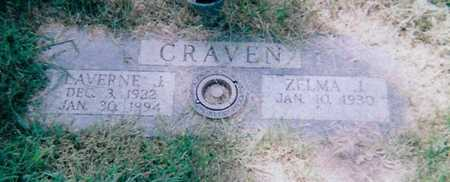 CRAVEN, ZELMA J. - Boone County, Iowa | ZELMA J. CRAVEN