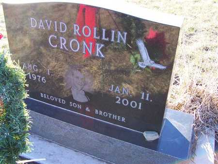 CRONK, DAVID ROLLIN - Boone County, Iowa | DAVID ROLLIN CRONK