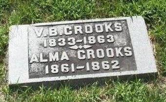 CROOKS, VALENTINE B. - Boone County, Iowa | VALENTINE B. CROOKS
