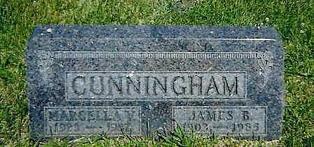 CUNNINGHAM, MARCELLA V. - Boone County, Iowa | MARCELLA V. CUNNINGHAM