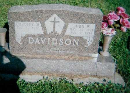 DAVIDSON, DOROTHY M. - Boone County, Iowa | DOROTHY M. DAVIDSON