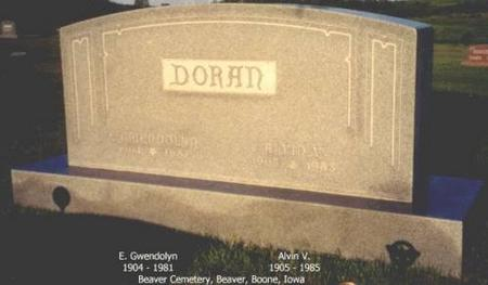 DORAN, E. GWENDOLYN AND ALVIN V. - Boone County, Iowa | E. GWENDOLYN AND ALVIN V. DORAN