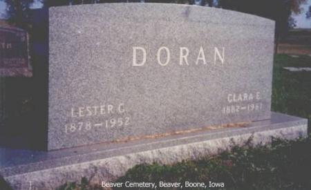 DORAN, LESTER C. AND CLARA E. - Boone County, Iowa | LESTER C. AND CLARA E. DORAN