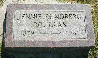 RUNDBERG DOUGLAS, JENNIE - Boone County, Iowa | JENNIE RUNDBERG DOUGLAS